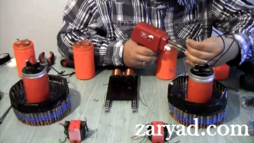 Fabriquez un générateur à énergie libre